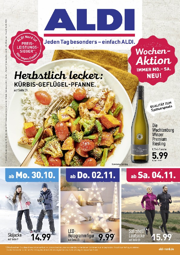 Aldi Nord Brochure With New Offers 1 72