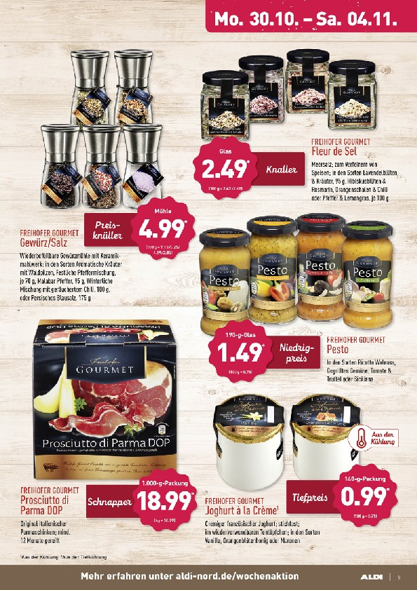 Aldi Nord Brochure With New Offers 5 72