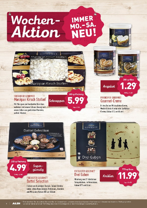 Aldi Nord Brochure With New Offers 6 72