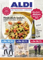 Aldi Nord brochure with new offers (1/72)