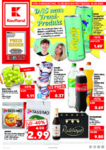 Kaufland brochure with new offers (1/176)