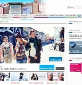 KaufPark Dresden – shopping center in Dresden, Germany
