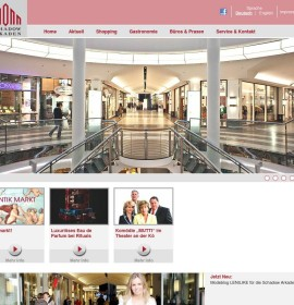 Schadow Arkaden – shopping center in Düsseldorf, Germany
