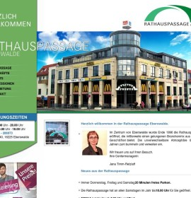 Rathauspassage Eberswalde – shopping center in Eberswalde, Germany