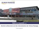 Vilnius Passage – shopping center in Erfurt, Germany