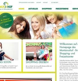 Montanus Hof – shopping center in Grevenbroich, Germany