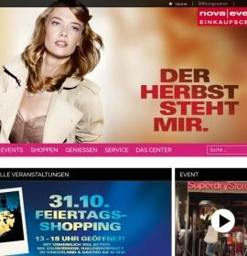 Nova Eventis – shopping center in Leuna / OT Günthersdorf, Germany