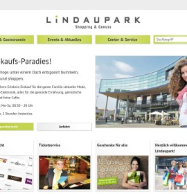 Lindaupark – shopping center in Lindau, Germany