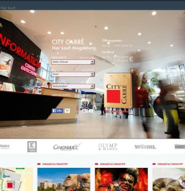 City Carré Magdeburg – shopping center in Magdeburg, Germany