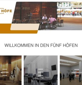 Fünf Höfe – shopping center in München, Germany