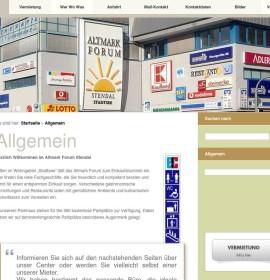 Altmark Forum – shopping center in Stendal, Germany