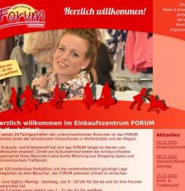 Forum Wolfenbüttel – shopping center in Wolfenbüttel, Germany