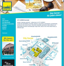 City Carree Darmstadt – shopping center in Darmstadt, Germany