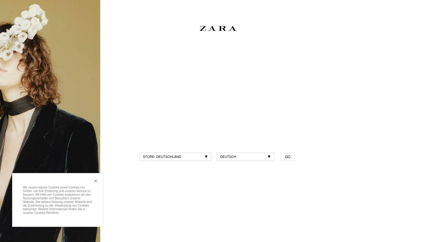 zara fashion clothing stores in germany erlangen shopping in germany. Black Bedroom Furniture Sets. Home Design Ideas